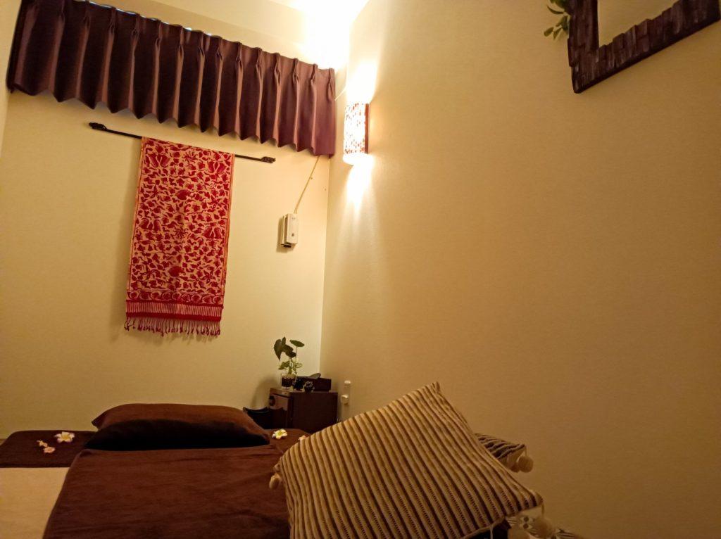 タイ古式マッサージ バーンラック新宿西口の個室例